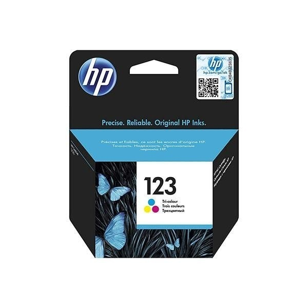 HP 123 Ink Cartridge Colored